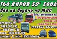 БОТЬО КИРОВ - 55 ЕООД